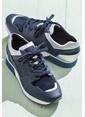 Elle Bağcıklı Spor Ayakkabı Gri